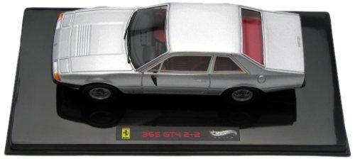 Hotwheels - Elite (Mattel) - W1191 - Véhicule Miniature - Ferrari 365 GT4 2+2 - Echelle 1/43