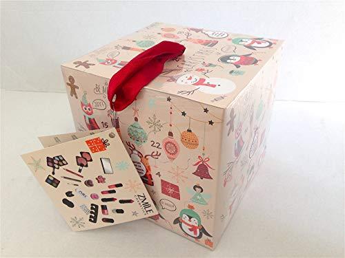 Briconti Adventskalender Kosmetik Würfel 'Cube'