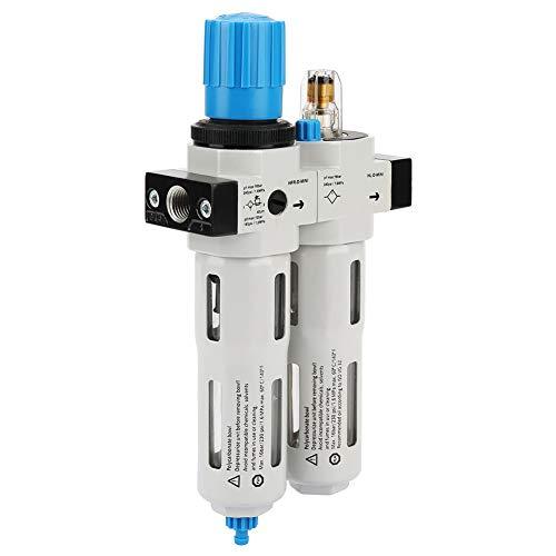 Germerse Divisor de Trampa de Agua/Aceite, 3 en 1, Dos Unidades, regulador de Aire comprimido de Buen Sellado, Alta presión para Herramienta neumática, Pala de Aire, Martillo de Aire Bruch