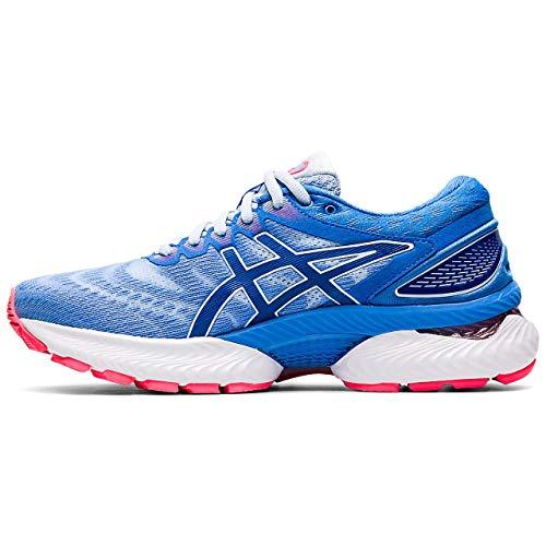 ASICS Damen Gel-Nimbus 22 Running Shoe, Weicher Himmel/Thunfischblau, 37 EU