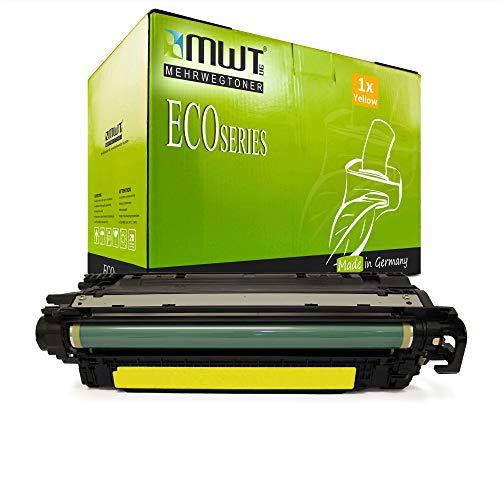 1x MWT kompatibel Toner fur HP Color Laserjet CP 3525 X DN N ersetzt CE252A 504A