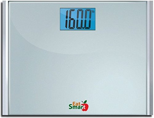 EatSmart Precision Plus Digital Bathroom Scale with Ultra-Wide Platform