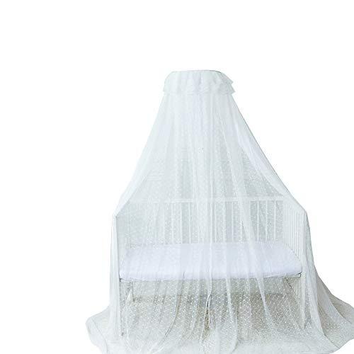 Mosquiteros, mosquiteros para bebés Completamente Cerrados, sombreados/a Prueba de Polvo, mosquiteros de pie (Blanco, Rosa, Amarillo)