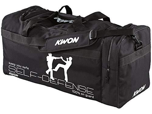 Kwon Sporttasche Large Self-Defence 65 x 32 x 32 cm, Tasche SV Self Defense Trainingstasche Kampfsport groß