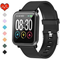 HuaWise Waterproof Activity Tracker with Heart Rate Monitor and Sleep Monitor