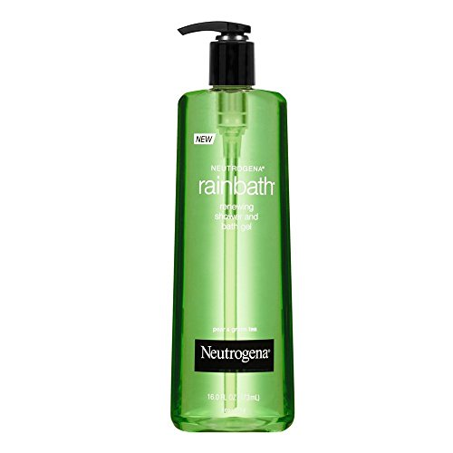Neutrogena Rainbath Renewing Shower And Bath Gel, Moisturizing Body Wash and Shaving Gel with Clean Rinsing Lather, Pear & Green Tea Scent, 16 fl. oz -  70501729038