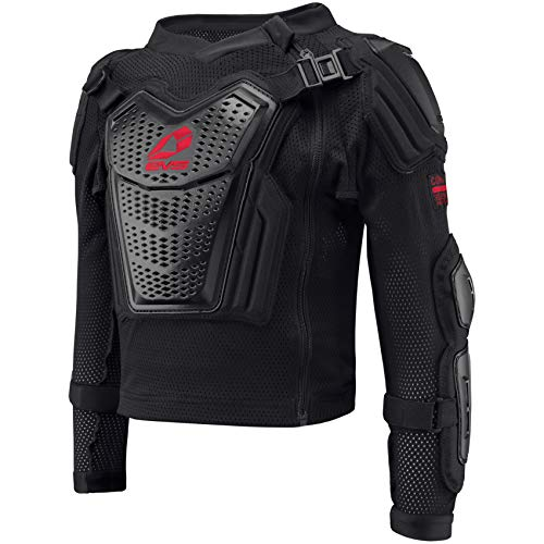 EVS Sports Unisex-Child Comp Suit Ballistic Jersey (Black/Red, Youth - Small)