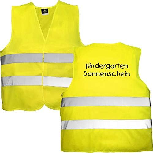 Kinder Sicherheitsweste Warnweste Signalweste 2 Größen Schule Kindergarten 5-20x