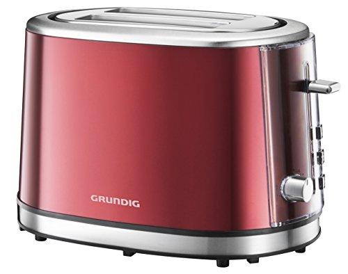 Grundig TA 6330 Toaster Red Sense