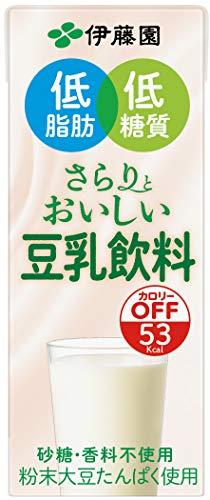 伊藤園 さらりとおいしい 豆乳飲料 (紙パック) 200ml ×24本