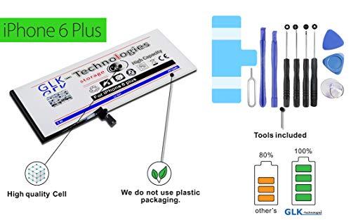 GLK-technologies -40% alleen korte tijd !! Nieuwe levering Zuid-Korea-technologie!! Originele accu | 2915 mAh | geschikt voor Apple iPhone 6 Plus | incl. gereedschapsset | geld terug garantie!