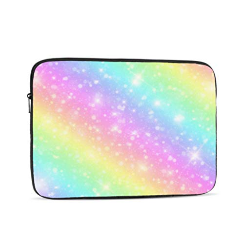 MacBook Pro Screen Protector Colorful Smart Mermaid Rainbow MacBook Air Protective Case Multi-Color & Size Choices10/12/13/15/17 Inch Computer Tablet Briefcase Carrying Bag