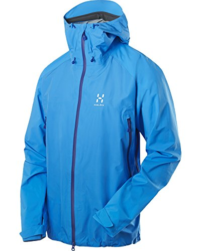 Haglöfs Herren Hardshell Jacke Roc Spirit Jacket, Galeblue, XL