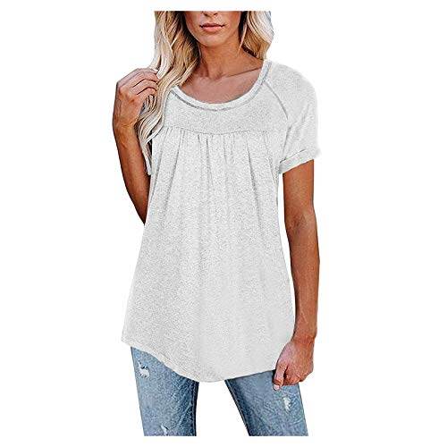 Womens Loose Fitting Zip Up Deep V Neck Short Sleeve Tops Tunic Casual T Shirts Blouse Women's V Neck Lace Trim Tank Tops Casual Loose Sleeveless Blouse Shirts Casual Leopard Print T-Shirt Sexy
