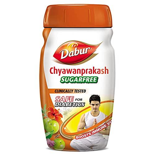 Dabur Chawanprakash, Sugar Free, 900gm - Spread with Herbs & Spices
