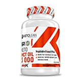 AMIX Nutrition | KetoLean | Keto goMCT Oil Cápsulas | Suplemento Alimenticio Aceite MCT | Grasas Sanas Provenientes del Coco | 100 Cápsulas | 3000 mg | Dietas Keto | Suplemento Energético y Deportivo