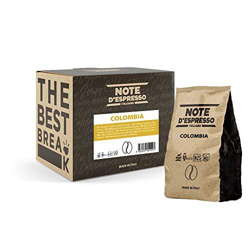 Note D'Espresso Café de Colombia en Grano - 4 x 250 g,...