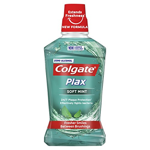 Colgate Palmolive Plax Sensitive mondwater met alcohol Soft Mint