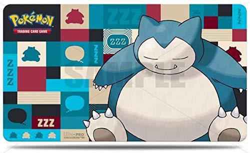 Lively Moments Pokemon Karten Spielmatte Spielunterlage Relaxo / Snorlax Game Mat Ultra Pro