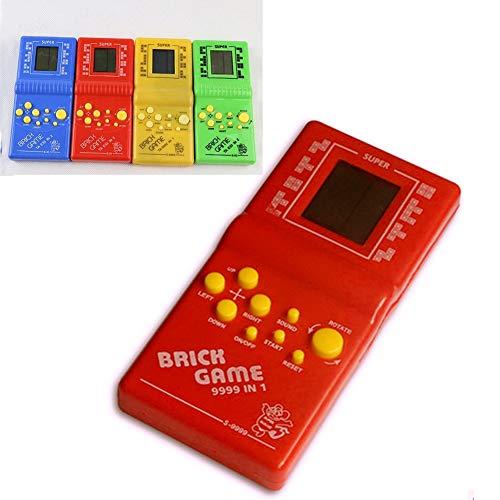 Vektenxi Tetris-Ziegelstein-Handspielmaschine, clásico Retro- Videospiel-Spieler de la LCD electrónica Spiel-Konsole scherzt Spielwaren Regalo Ocasional