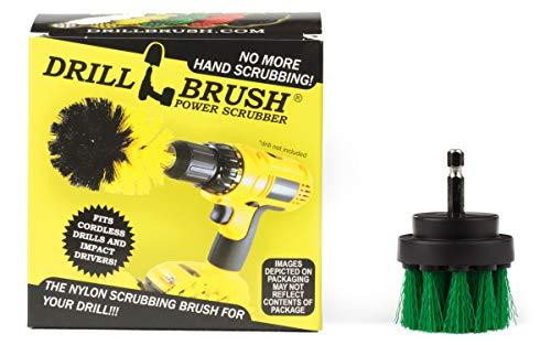 Küchenzubehör - Mikrowelle - Reinigungsprodukte - Drill Brush - Fugenreiniger - Cordless - Bürste - für Herd, Ofen-Rack, Waschbecken, Fliesen und Fugen, Bodenbelag - Spülbürste - Duschtüren Tracks