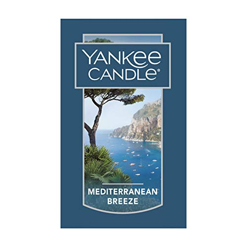 Yankee Candle Charming Scents Car Air Freshener Refill, Mediterranean Breeze