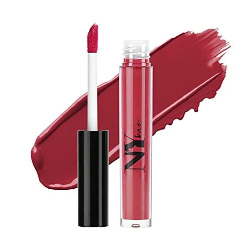 NY Bae Moisturizing Liquid Lipstick Nude – XXX Like Men 43 – Intense Pigmentation, Long Lasting & Transfer Resistant – Cruelty Free