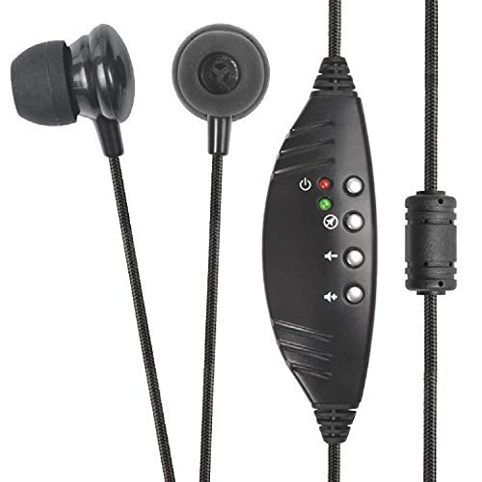 達成する酸っぱい続編ECS WordSmith Noise Reduction In Ear USB Transcription Headset [並行輸入品]