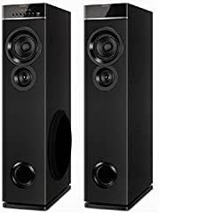 Philips SPT 6660 channel Tower speakers