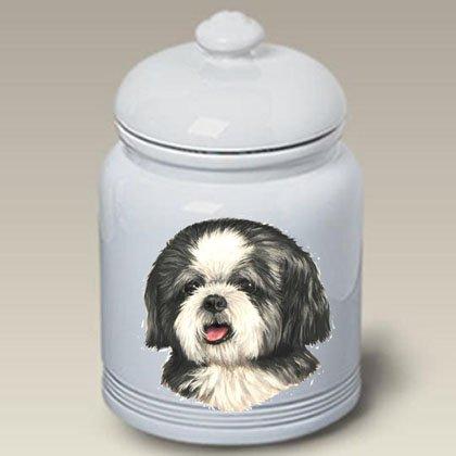 Best of Breed Shih Tzu Puppy Cut - Linda Picken Treat Jar