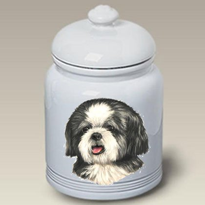 Best of Breed Shih Tzu Puppy Cut - Linda Picken Treat Jar
