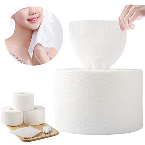 1roll Einweg-Baumwolle Gesicht Papiertuch-Hautpflege Intensivreinigung Papier Schönheit Werkzeug Make-up Gesichts Soft-Pads für empfindliche Haut