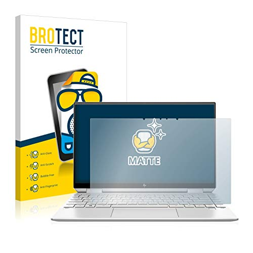 BROTECT Entspiegelungs-Schutzfolie kompatibel mit HP Spectre x360 13-aw0020ng Bildschirmschutz-Folie Matt, Anti-Reflex, Anti-Fingerprint
