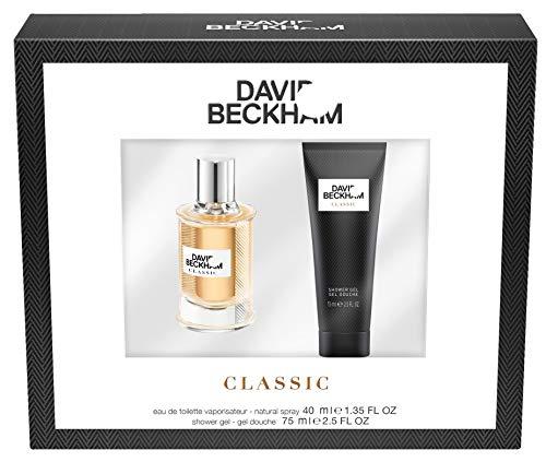 David Beckham Duftset Classic Eau de Toilette 40 ml + Showergel 75 ml, 115 ml