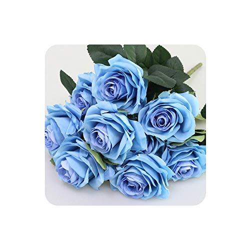 Sunny1 Kunstzijde 1 Bunch Franse Rose Bloemenboeket Nep Bloem Schik Tafel Madeliefje Bruiloft Bloemen Decor Party Accessoire Bloemetjes