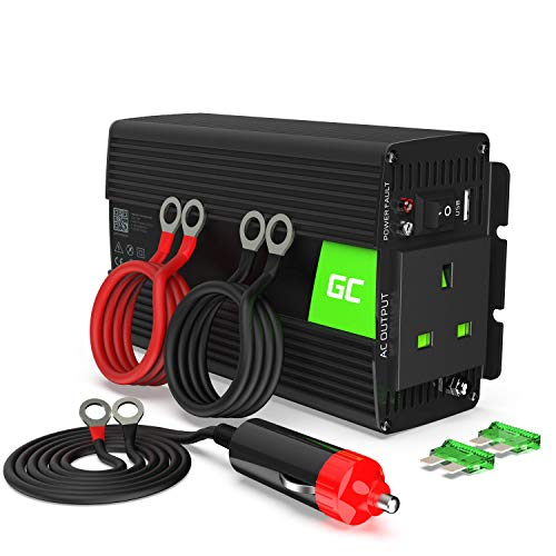 Green Cell® 300W/600W Modified Sine Wave Power Inverter 24V to 230V Car...