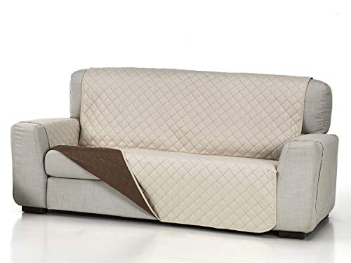 Lanovenanube - Funda sofá Acolchado - Práctica - 2 plazas Plus - Color Beig C02