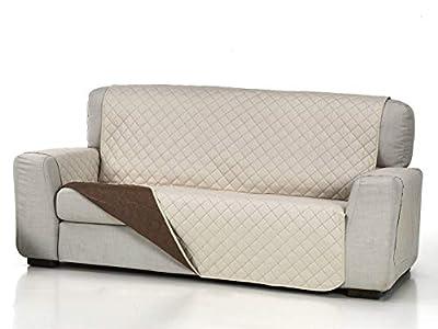 Lanovenanube Belmarti - Funda sofá Acolchado - Práctica - 2 plazas Plus - Color Beig C02