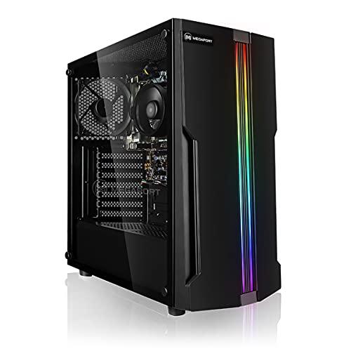 """Megaport PC Completo AMD Athlon 3000G 2 x 3.50 GHz • Schermo ASUS Full-HD LED 24"""" • Tastiera/Mouse • Windows 10 Home • 1TB HDD • 16GB RAM DDR4 2400 • pc da desktop pc completo pc completo fisso"""