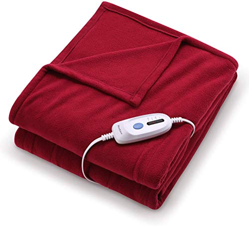 Electric Heated Blanket Twin Size 62'' x 84''...
