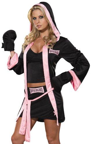 Cesar 3760M - Disfraz de boxeadora para mujer (talla 38) , color/modelo surtido