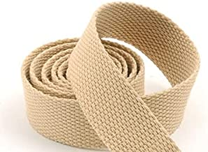 5 meter 25mm canvas lint riem tas webbing nylon webbing KnapsAck stressing naaien tas riem accessoires (Color : Khaki)