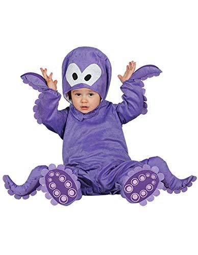 Guirca–Costume polpo Baby, taglia 12–24mesi, 86000.0)