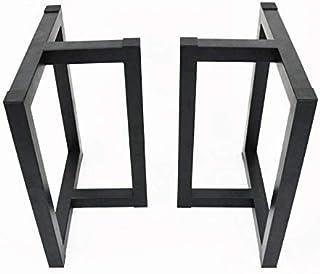 [Wooden JAPAN匠一松] アイアン脚(ツヤ消し黒)1枚板テーブル用