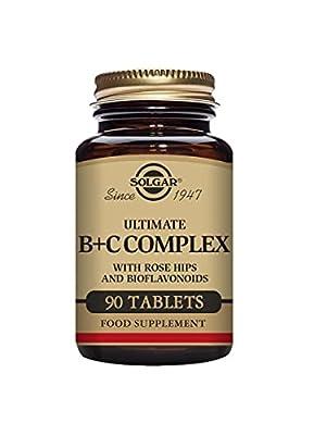 Solgar Ultimate B Plus C Complex Tablets - Pack of 90
