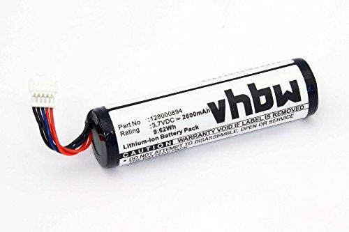 vhbw Li-Ion Akku 2600mAh (3.7V) für Barcode Scanner Datalogic Gryphon GM4100, GM4130, GM4400, GM4430, GBT4400, GBT4430 wie 128000894, RBP-GM40.