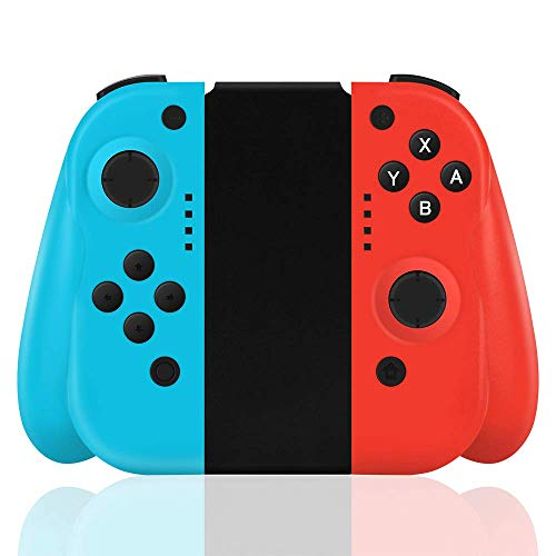 Maegoo Mando Switch, Bluetooth Switch Mando Gamepad Joypad Joysticks Inalámbrico Mando con Doble Vibración y Giroscopio de 6 Ejes