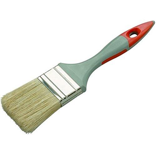 Savy 4404020 Pinceau plat bi matière peinture 20 mm Mat Satiné