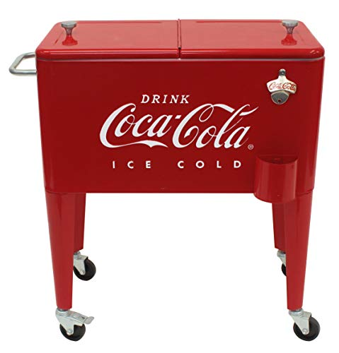 Leigh Country CP 98108 Retro Metal Coca-Cola Cooler