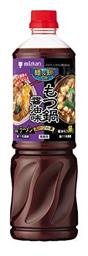 ミツカン 麺&鍋大陸 もつ鍋醤油味スープの素 1240g